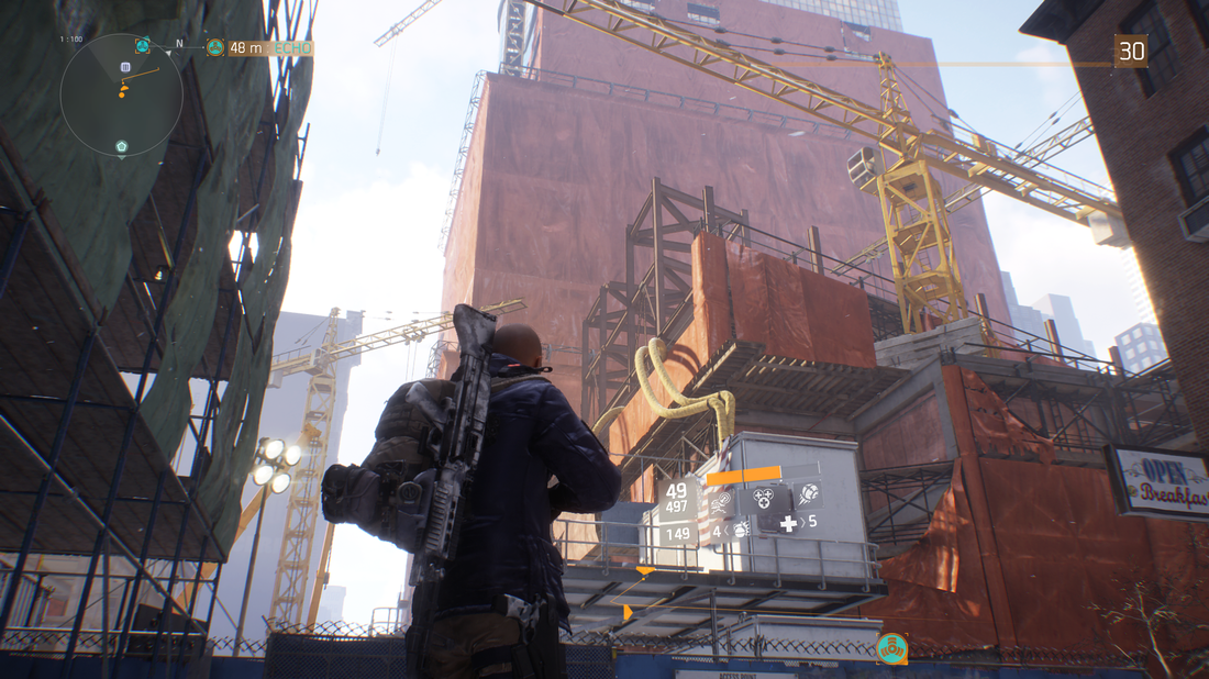 The Division - Expansive City Scene