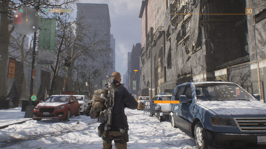 The Division - Empty Streets of New York
