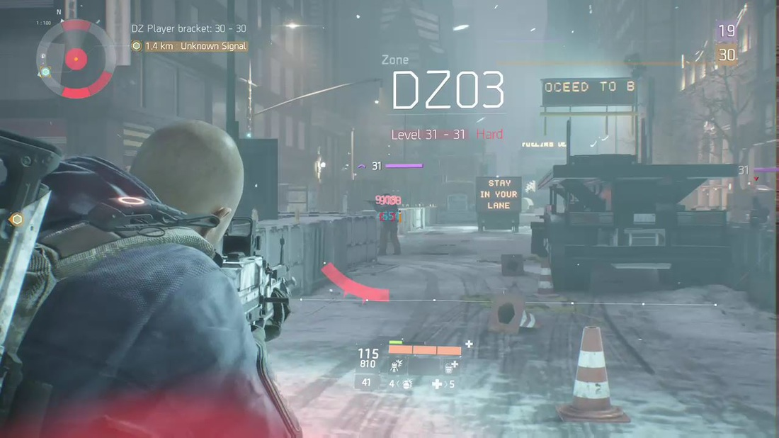 The Division - Darkzone Character Shooting